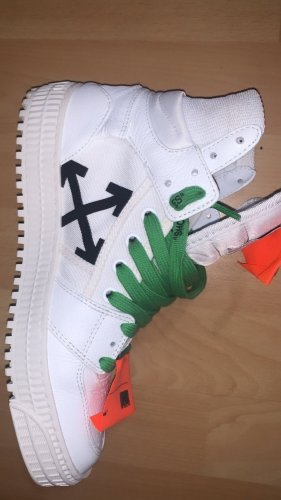 Off-White Zapatillas altas multicolor
