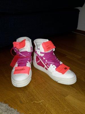 Off-White Sneaker stringata multicolore Pelle