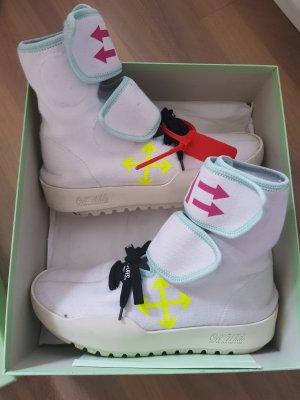 Off-White Sneaker alta bianco