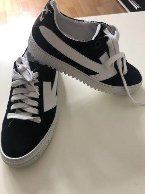 Off White Virgil Abloh Sneaker Schuh Arrow Schwarz Weiß
