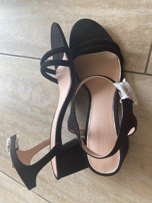 Offene Schuhe schwar 40 Esprit Damen neu
