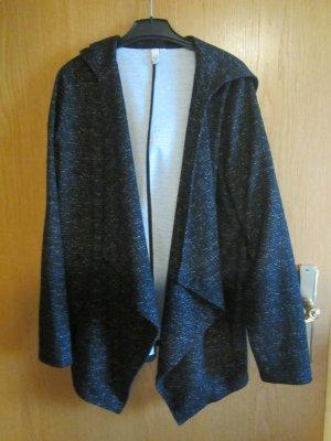 QS by s.Oliver Veste sweat noir-gris clair polyester