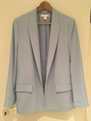 Offener Blazer in hellblau von H&M in Größe 40