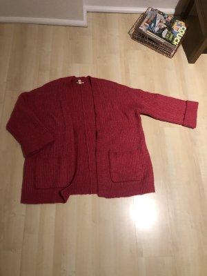 Esprit Cardigan a maglia grossa multicolore Lana
