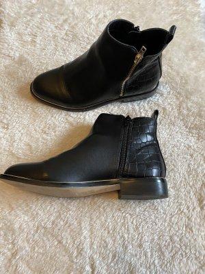 Office London Chelsea laarzen zwart-goud