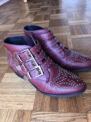 Office London Boots im Chloe Stil