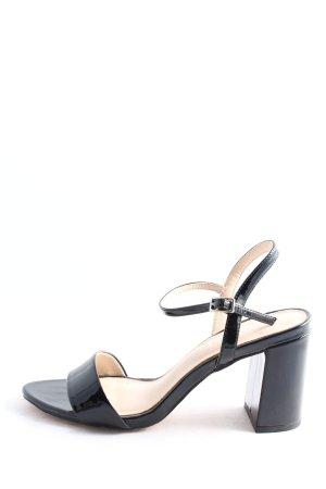 Office London High Heel Sandaletten schwarz Casual-Look