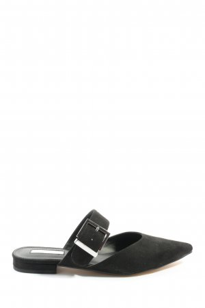 Office London Comfort Sandals black-silver-colored casual look
