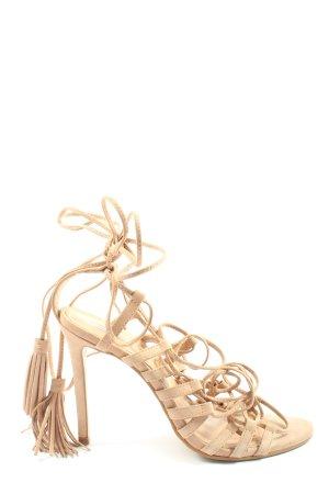 Office London Riemchen-Sandaletten wollweiß Elegant