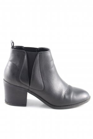 Office London Slip-on laarzen zwart zakelijke stijl