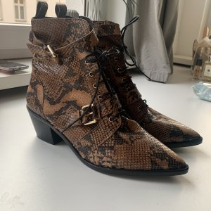 Office London Snake Boots