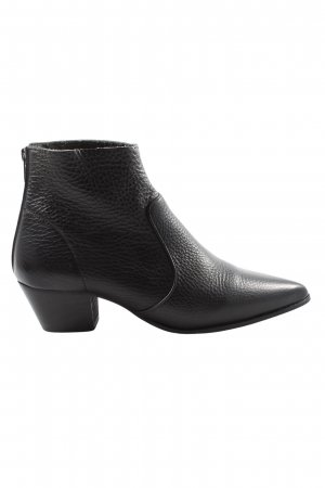 Office London Western Booties black business style