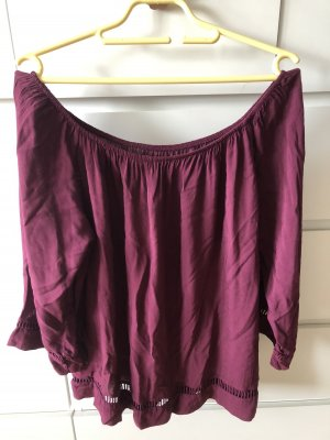 Made in Italy Blouse Carmen violet
