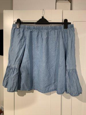 Offshoulder Bluse in jeansblau von Only in Größe 36
