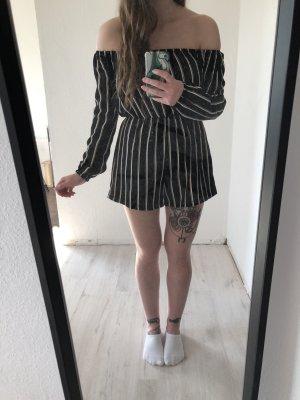 Missguided Onesie noir-blanc