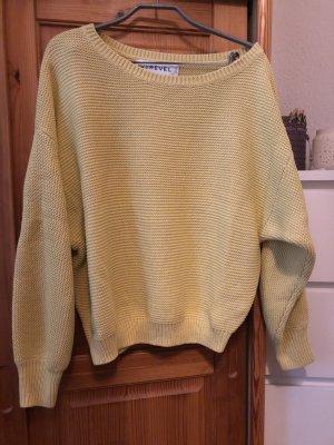 Ivyrevel Maglione lavorato a maglia giallo pallido