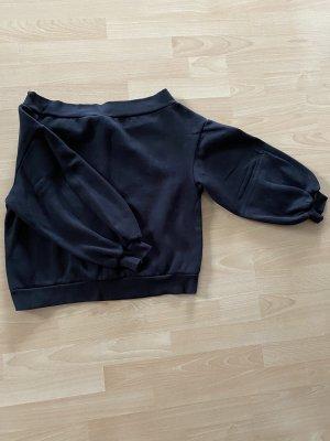 Offshoulder-Pullover • Pumpärmel lang