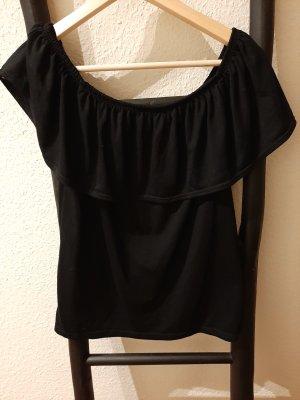 Woman by Tchibo Carmen shirt zwart Polyester