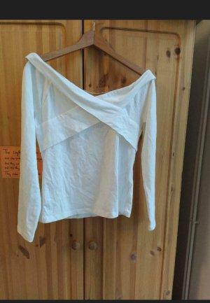 Koszula typu carmen kremowy