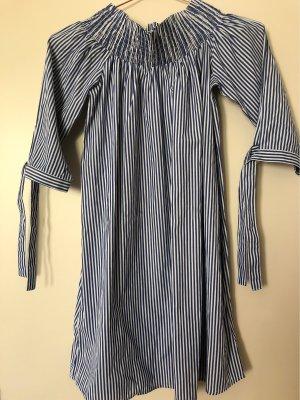 Pimkie Off-The-Shoulder Dress white-cornflower blue