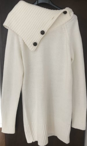 Only Long Sweater natural white