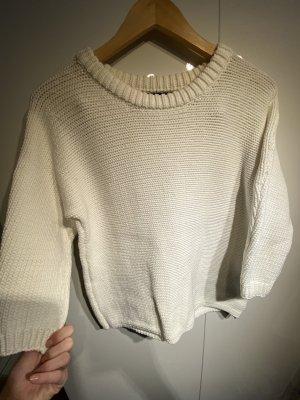 Offwhite Pullover von Hallhuber