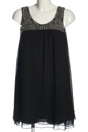 Oge & Co. Minikleid schwarz-silberfarben Elegant