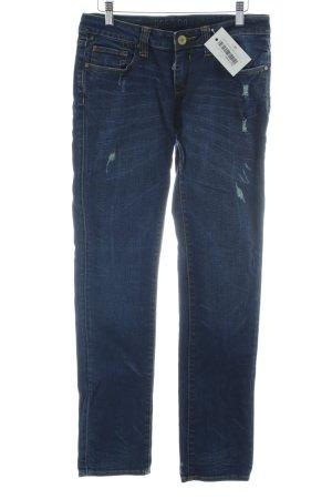 Oge & Co. Slim Jeans dunkelblau Casual-Look