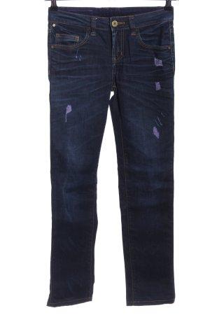 Oge & Co. Straight-Leg Jeans blau Casual-Look