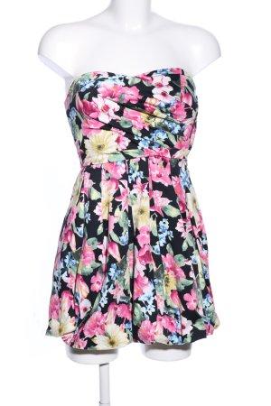 Bandeau Dress allover print elegant