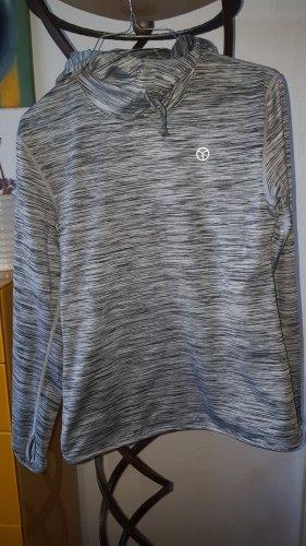 Ogiyogi Top à capuche noir-gris clair polyester