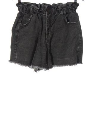 OH APRIL Denim Shorts light grey casual look