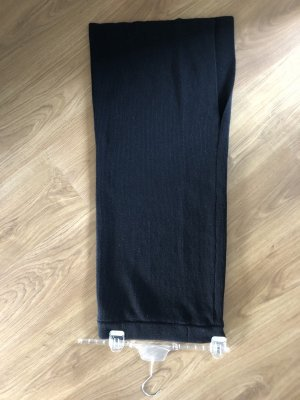 OH APRIL Knitted Skirt black wool