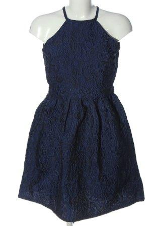 Oh my love Sukienka z dekoltem typu halter niebieski W stylu casual