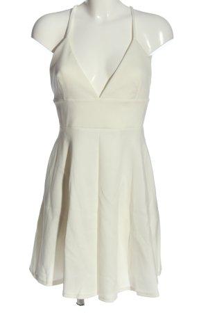 Oh my love Sukienka na ramiączkach biały W stylu casual
