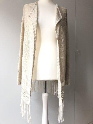 Crochet Cardigan cream-natural white