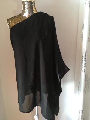bpc One Shoulder Dress black