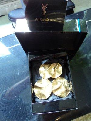 Yves Saint Laurent Orecchino a clip oro