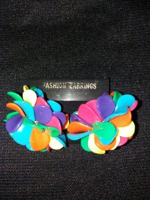 Clip d'oreille multicolore
