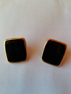 Clip d'oreille noir-doré