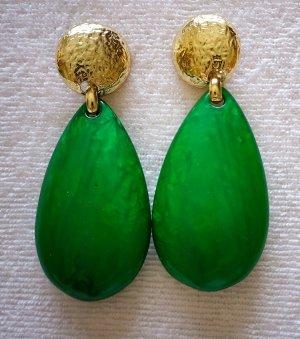 Clip d'oreille vert