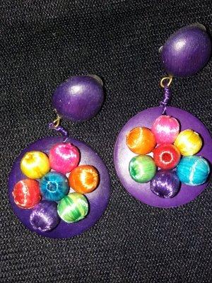 Clip d'oreille violet