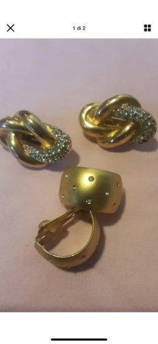 Ohrclipse aus Nachlass vergoldet
