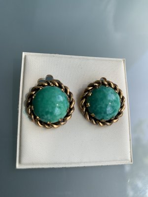 D made in Italy Earclip turquoise-gold-colored