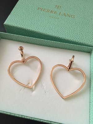 Pierre Lang Ear Hoops rose-gold-coloured