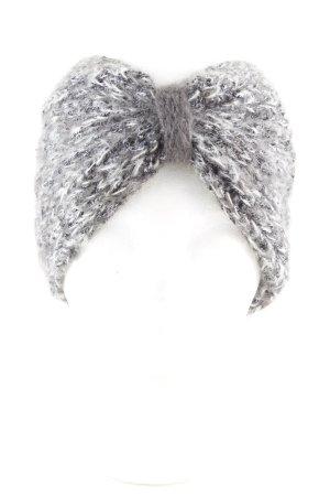 Orejeras gris claro moteado elegante
