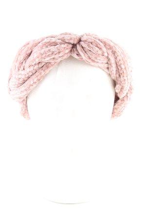 Cache-oreilles rose style décontracté