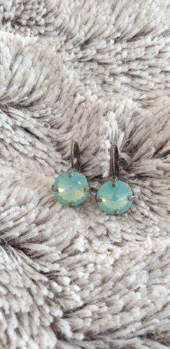 Ohrhänger Ohrringe in der Farbe türkis