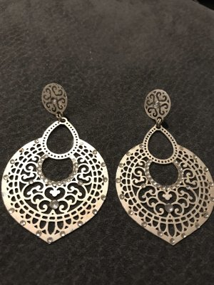 Ohrhänger Orient in Grau-schwarze Farbe