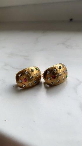 Pierre Lang Pendientes de clip color oro